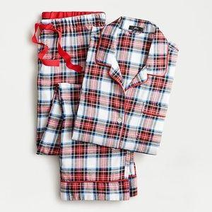 J.Crew Flannel Plaid Pajama Set Size XL L New!